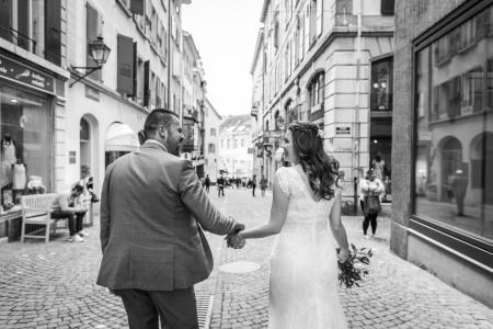 Mariage Sladjana et Zoran à l'Etat Civil de Lausanne et à l'Hermitage
