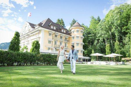 Mariage  Marie & Mohammed - Le Grand Bellevue Gstaad Switzerland - Julie Rheme