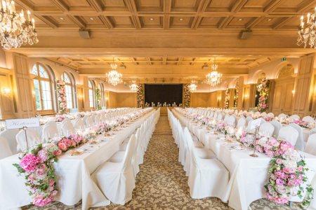 Mariage  Marie & Mohammed - Gstaad Palace Switzerland - Julie Rheme