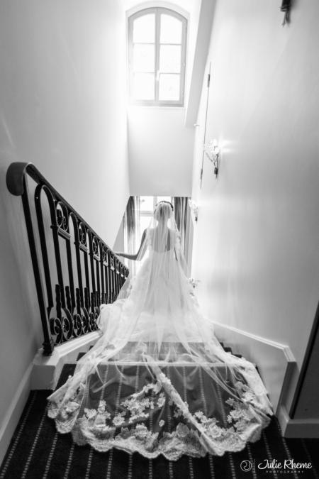 Mariage au Parc des Eaux-Vives à Genève - Photo : Julie Rheme